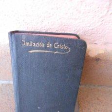 Libros antiguos: IMITACIÓN DE CRISTO POR TOMÁS KEMPIS. TRADUCCIÓN P. JUAN NIEREMBERG DE LA COMPAÑÍA DE JESÚS.. Lote 195064363