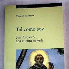 Libros antiguos: TAL COMO SOY. Lote 195067351