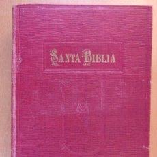 Libros antiguos: LA SANTA BIBLIA / VERSIÓN DE CIPRIANO VALERA / 1915. Lote 195095412