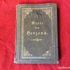 Libros antiguos: PALABRAS DEL CORAZÓN DE J. C. LAVATER PARA AMIGOS DE AMOR Y FE, 1878. MUY ESCASO. ENVIO GRÁTIS.. Lote 195123672
