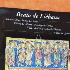 Libros antiguos: BEATO DE LIEBANA.MOLEIRO.LAMINAS,. Lote 195138032