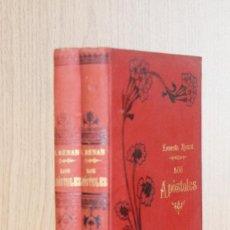 Libros antiguos: LOS APÓSTOLES - ERNESTO RENAN. Lote 195164862