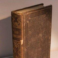 Libros antiguos: NOVÍSIMO AÑO CRISTIANO, O EJERCICIOS DEVOTOS PARA TODOS LOS DÍAS DEL AÑO. (EDICIÓN DE 1861) - CROISS. Lote 195178406