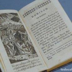 Libros antiguos: OFICIO DE LA SEMANA SANTA - JOAQUÍN LORENZO VILLANUEVA - NUEVA EDICIÓN - MÁLAGA 1796. Lote 195184463