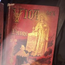 Libros antiguos: VIDA DEL PADRE CLARET. P. MARIANO AGUILAR, MADRID 1894.. Lote 195191692