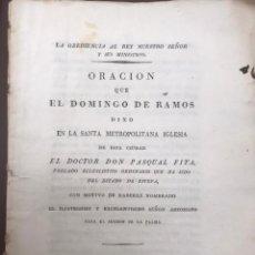 Libros antiguos: VALENCIA. JOSE NAPOLEÓN I. LA OBEDIENCIA AL REY NUESTRO SEÑOR Y SUS MINISTROS. 1812. Lote 195191898