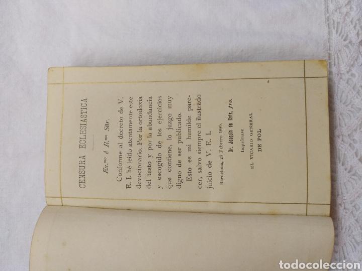 Libros antiguos: OFICIO DEL DOMINGO 1889 - Foto 3 - 195220178