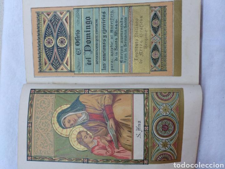 Libros antiguos: OFICIO DEL DOMINGO 1889 - Foto 10 - 195220178