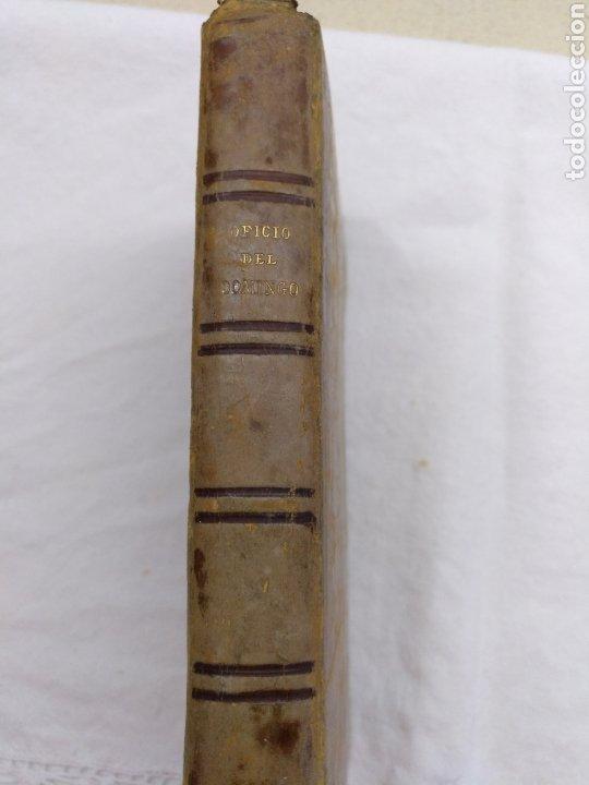 OFICIO DEL DOMINGO 1889 (Libros Antiguos, Raros y Curiosos - Religión)