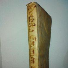 Libros antiguos: POTESTATIS EXAMEN ECCLESIASTICUM,CUM NOVIFFIMIS ADDITIONIBUS.R.P.F.FELICIS.1745.. Lote 195221085