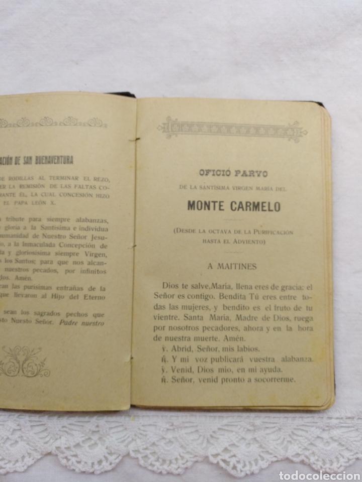 Libros antiguos: OFICIO PARVO CARMELITANO 1915 - Foto 2 - 195222782