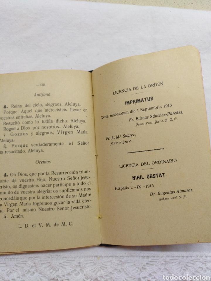 Libros antiguos: OFICIO PARVO CARMELITANO 1915 - Foto 4 - 195222782
