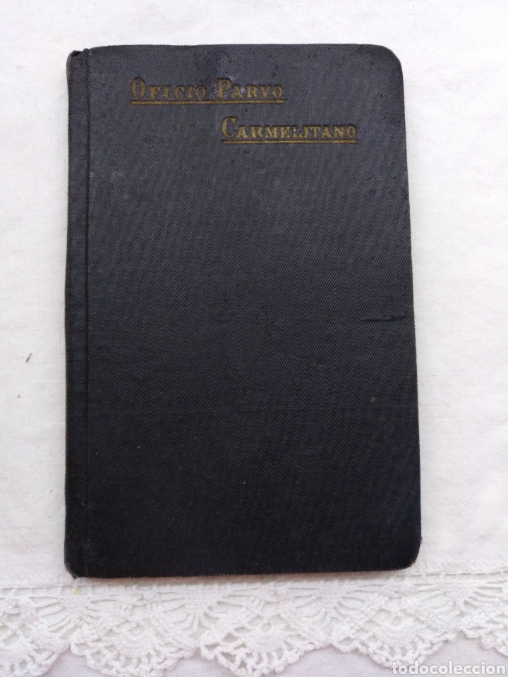 OFICIO PARVO CARMELITANO 1915 (Libros Antiguos, Raros y Curiosos - Religión)