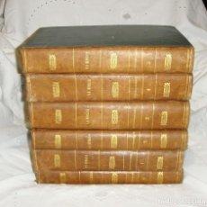 Libros antiguos: LA SANTA BIBLIA. D. FELIPE SCIO DE SAN MIGUEL. 6 TOMOS (COMPLETA). ILUSTRADA CON GRABADOS. 1863. Lote 195228093