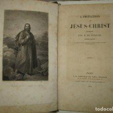 Libros antiguos: L'IMITATION DE JÉSUS-CHRIST. 1835.. Lote 195276417