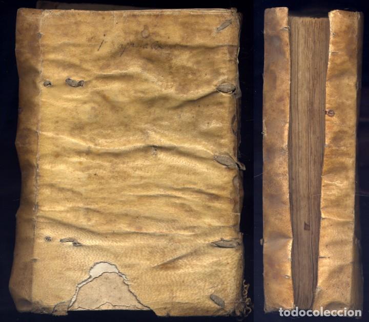 Libros antiguos: VERRATI, Giovanni Mª. De Incarnatione Verbi Domini, consonantia Quattuor Evangelis cum hos... 1551. - Foto 2 - 195283243