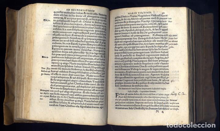 Libros antiguos: VERRATI, Giovanni Mª. De Incarnatione Verbi Domini, consonantia Quattuor Evangelis cum hos... 1551. - Foto 4 - 195283243