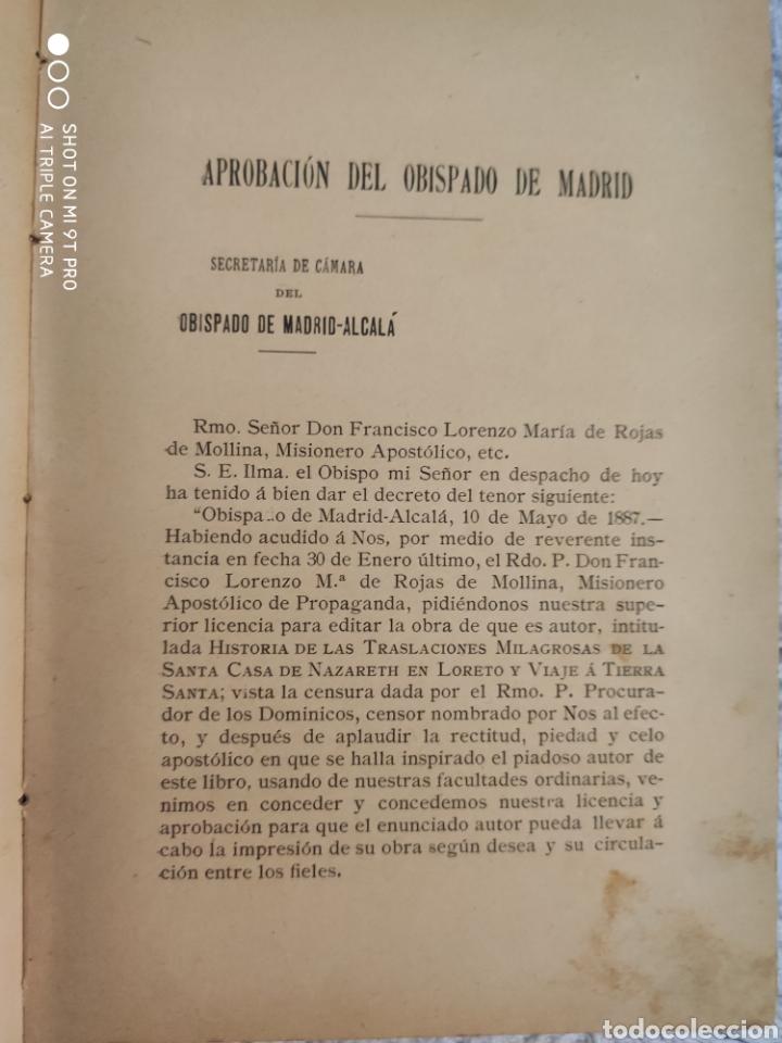 Libros antiguos: Historia de traslaciones milagrosa - Foto 5 - 195321496