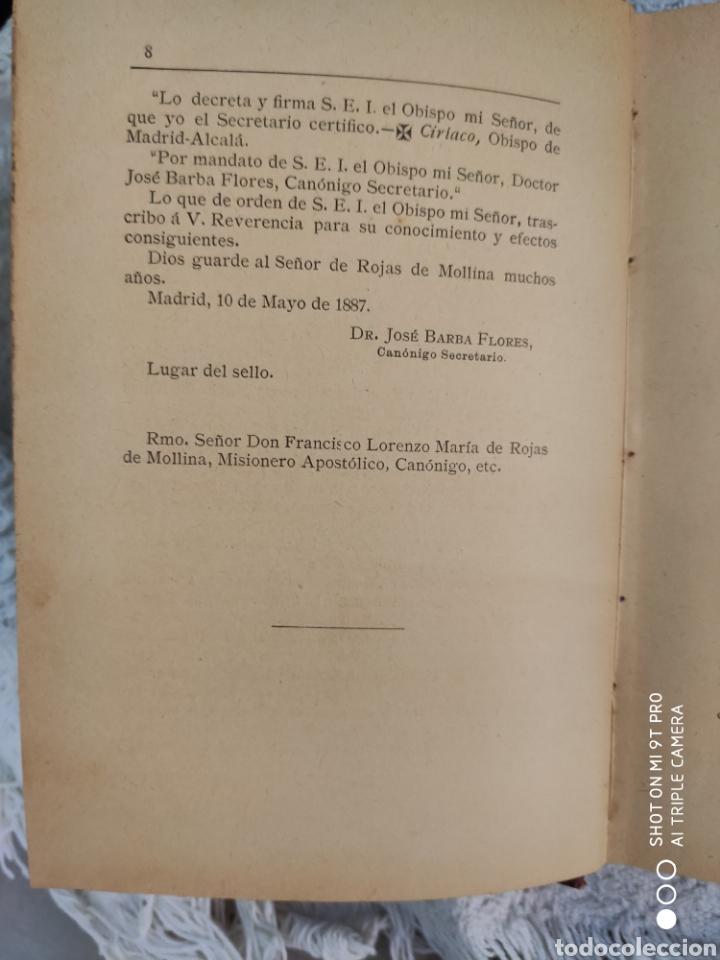 Libros antiguos: Historia de traslaciones milagrosa - Foto 6 - 195321496