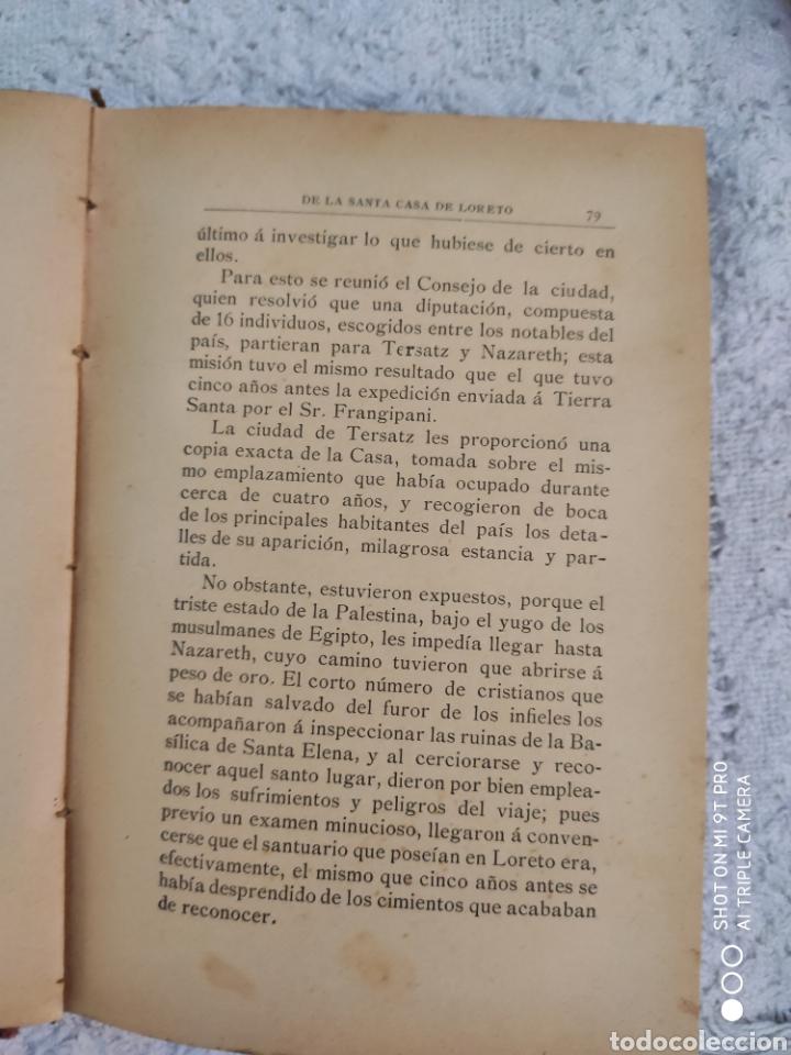 Libros antiguos: Historia de traslaciones milagrosa - Foto 8 - 195321496