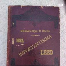 Libros antiguos: HISTORIA DE TRASLACIONES MILAGROSA. Lote 195321496