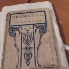 Libros antiguos: GRAMATICA. Lote 195328285