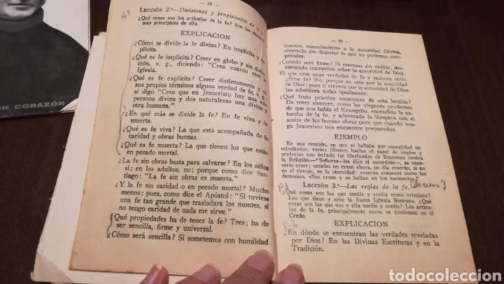 Libros antiguos: Hojas de Catecismo. Libro de 1935. - Foto 3 - 195335125