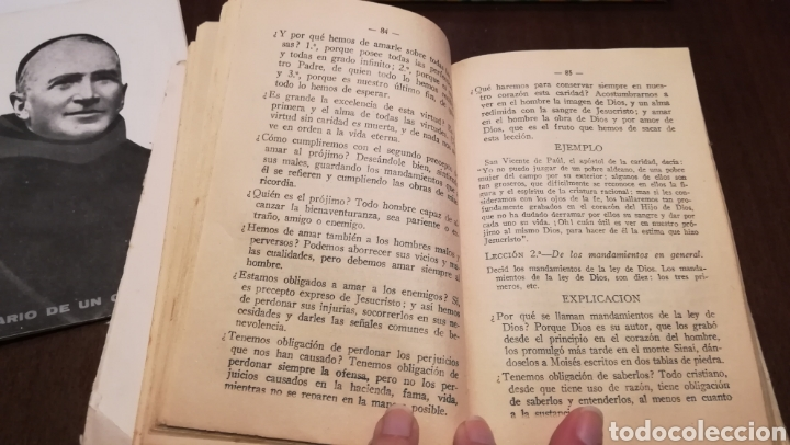 Libros antiguos: Hojas de Catecismo. Libro de 1935. - Foto 4 - 195335125
