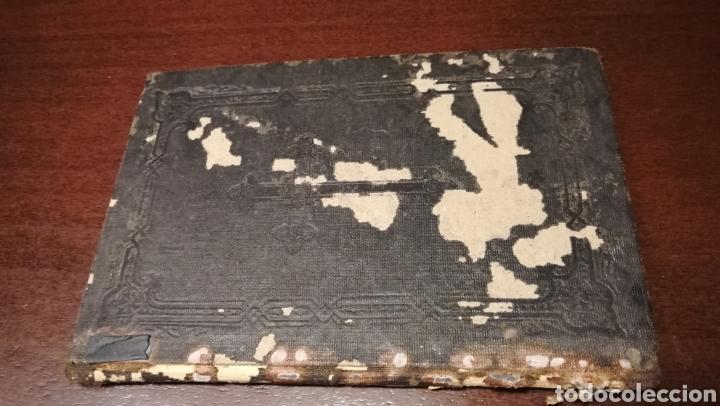 Libros antiguos: Trisagio en honor, gloria y alabanza de la Santísima Trinidad. Libro de 1886. - Foto 2 - 195337887