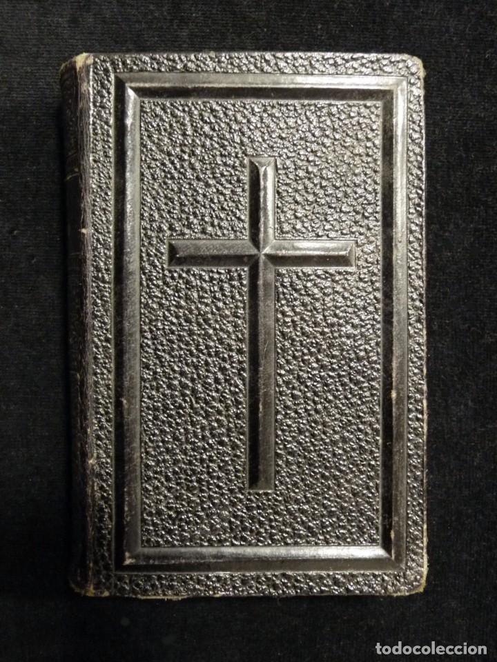 VISITAS AL SANTÍSIMO SACRAMENTO. ALFONSO M. DE LIGORIO. LLORENS HERMANOS, BARCELONA, CIRCA 1880 (Libros Antiguos, Raros y Curiosos - Religión)