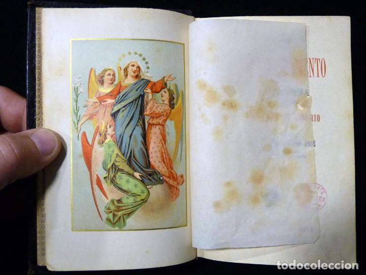 Libros antiguos: VISITAS AL SANTÍSIMO SACRAMENTO. ALFONSO M. DE LIGORIO. LLORENS HERMANOS, BARCELONA, CIRCA 1880 - Foto 6 - 195354150