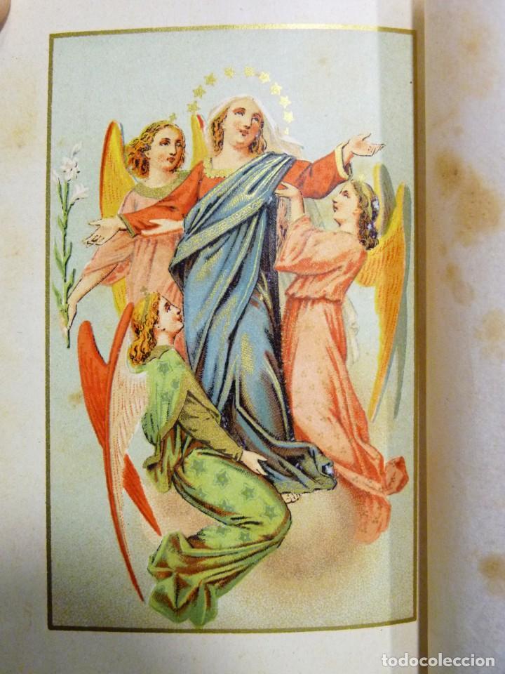 Libros antiguos: VISITAS AL SANTÍSIMO SACRAMENTO. ALFONSO M. DE LIGORIO. LLORENS HERMANOS, BARCELONA, CIRCA 1880 - Foto 7 - 195354150