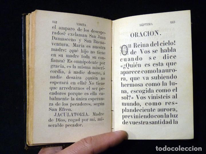 Libros antiguos: VISITAS AL SANTÍSIMO SACRAMENTO. ALFONSO M. DE LIGORIO. LLORENS HERMANOS, BARCELONA, CIRCA 1880 - Foto 10 - 195354150