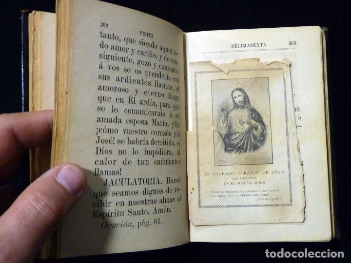 Libros antiguos: VISITAS AL SANTÍSIMO SACRAMENTO. ALFONSO M. DE LIGORIO. LLORENS HERMANOS, BARCELONA, CIRCA 1880 - Foto 11 - 195354150
