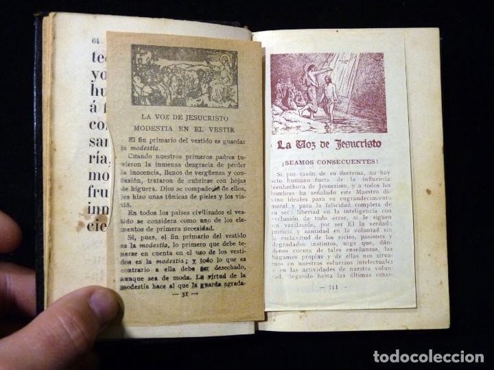 Libros antiguos: VISITAS AL SANTÍSIMO SACRAMENTO. ALFONSO M. DE LIGORIO. LLORENS HERMANOS, BARCELONA, CIRCA 1880 - Foto 12 - 195354150