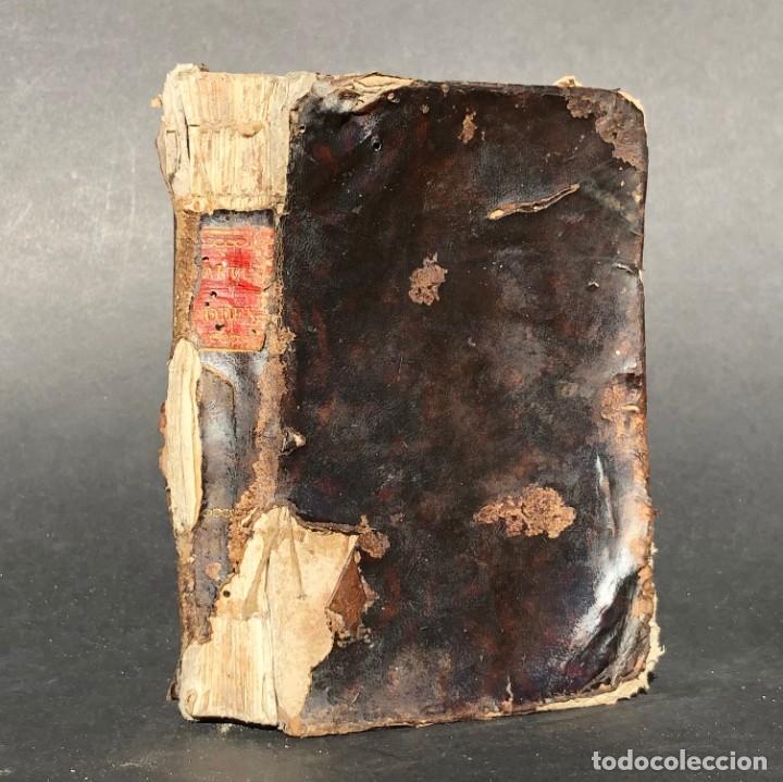 1819 PARVUS CODEX SACRORUM RITUUM EX ROMANO RITUALI - SANTIAGO DE COMPOSTELA (Libros Antiguos, Raros y Curiosos - Religión)