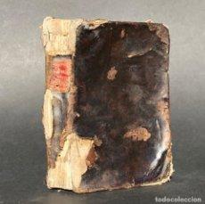 Libros antiguos: 1819 PARVUS CODEX SACRORUM RITUUM EX ROMANO RITUALI - SANTIAGO DE COMPOSTELA. Lote 195387867
