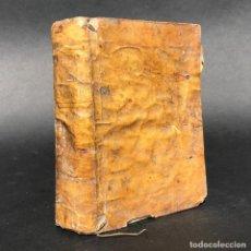 Libros antiguos: 1760 INTRODUCCION A LA VIDA DEVOTA DE SAN FRANCISCO DE SALES - PERGAMINO. Lote 195388948
