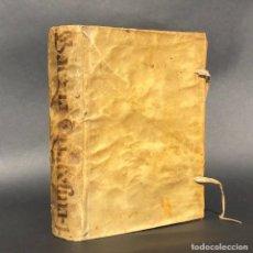 Libros antiguos: 1686 QUARESMA DE SERMONES DOCTRINALES - JAEN - GRANADA - PERGAMINO - MÁLAGA – CÁDIZ. Lote 195393043