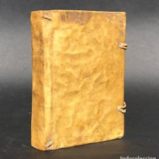Libros antiguos: 1780 - VIDA Y VIRTUDES DE MIGUEL ARGEMIR DE LOS SANTOS - VICH - BERGA - PERGAMINO - CATALUNYA. Lote 195395446