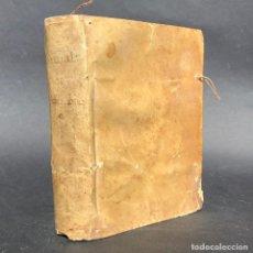 Libros antiguos: 1755 - MANUAL DE PIADOSAS MEDITACIONES - SEMANA SANTA - CUARESMA - PASCUA - PERGAMINO. Lote 195450890