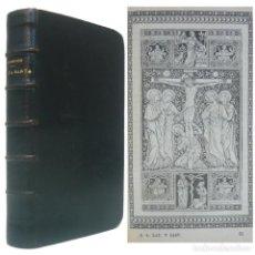 Libros antiguos: 1899 - OFICIO DE LA SEMANA SANTA EN LATÍN Y CASTELLANO - ILUSTRADO, GRABADOS - ENCUADERNACIÓN, PIEL. Lote 195478820