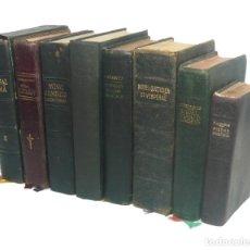 Libros antiguos: 1950 - LOTE DE 8 LIBROS ANTIGUOS DE RELIGIÓN - BIBLIA - MISALES - ILUSTRACIONES - ESPIRITUALIDAD. Lote 195482536