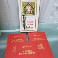 Libros antiguos: LA BIBLIA DE LOS NIÑOS 3 TOMOS. Lote 195510067