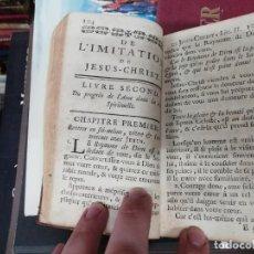 Libros antiguos: DE L'IMITATION DE JESUS-CHRIST . SIEUR DE BEUIL, PRIEUR DE SAINT VAL . 1754 . TODO UNA JOYA!!!. Lote 195518578