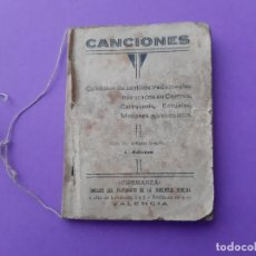 Libri antichi: CANTICOS TRADICIONALES CATEQUESIS ESCUELAS MISIONES PARROQUIALES PATRONATO JUVENTUD ESPERANZA VALENC. Lote 195659232