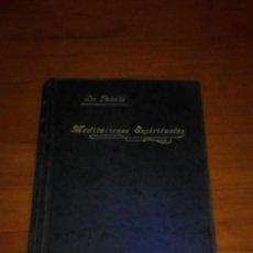 Libros antiguos: MEDITACIONES ESPIRITUALES. V. P. LUIS DE LA FUENTE. 1929. TOMO TERCERO. EST24B3. Lote 211732170