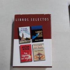Livres anciens: LIBROS SELECTOS -Y EL CIELO LOS BENDIJO-CAMINI DE LA COSTA- LAS LÁGRIMAS DEL DIABLO-LA CAZA DEL TEJO. Lote 195798848