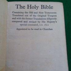 Libros antiguos: BIBLIA EN INGLES - HOLY BIBLE - 1893 BRITISH AND FOREIGN BIBLE SOCIETY CAMBRIDGE UNIVERSITY PRESS. Lote 195811186