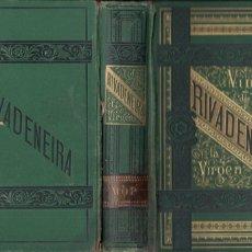Libros antiguos: RIVADENEIRA : VIDA Y MISTERIOS DE LA VIRGEN MARÍA (TELLO, 1879). Lote 196326573